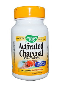 Medicines for Food Poisoning-Nature's Way Activated Charcoal