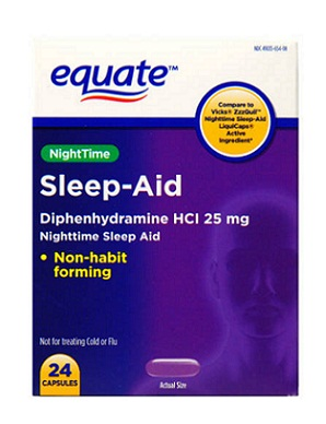 Sleeping Pills-Equate Sleep Aid Liquicaps