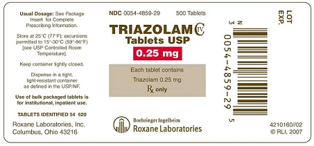 Sleeping Pills-Triazolam