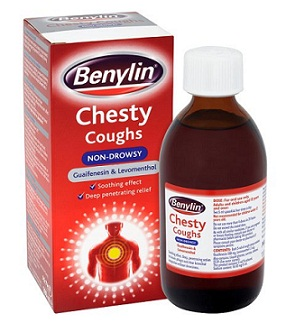 cough syrup-Benylin Chesty coughs