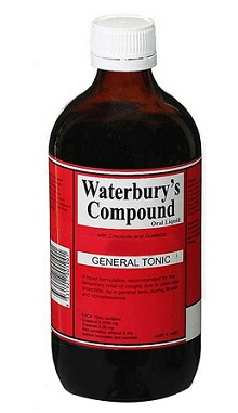 cough syrup-Waterbury's compound