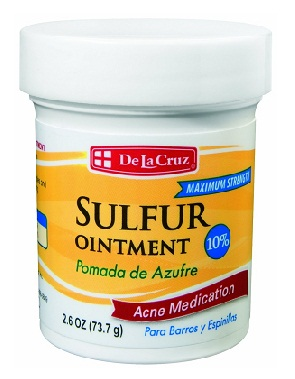 medicines for acne-Sulphur topical