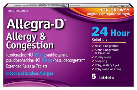 medicines for allergy-Allegra-D