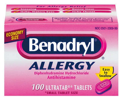 medicines for allergy-Benadryl allergy