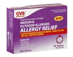 medicines for allergy-CVS indoor and outdoor allergies