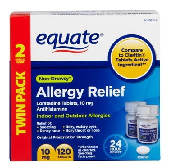 medicines for allergy-Equate allergy relief