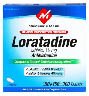medicines for allergy-Loratadine