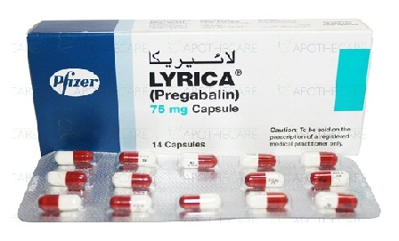 medicines for back pain-Lyrica 75mg