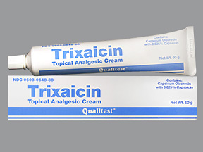 medicines for back pain-Trixaicin topical