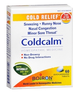 medicines for sore throat-Boiron cold calm