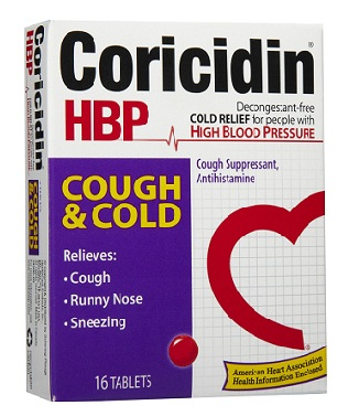 medicines for sore throat-Coricidin HBP oral