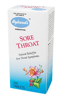 medicines for sore throat-Hyland's sore throat