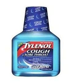 medicines for sore throat-Tylenol cough and sore throat