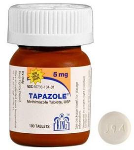 medicines for thyroid-Tapazole