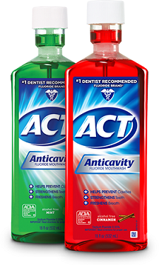 mouthwashes-ACT anti Cavity