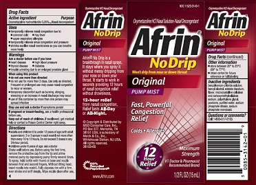 medicines for cold-Afrin