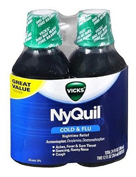 medicines for cold-Vicks Nyquil