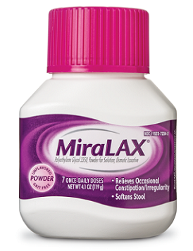 medicines for constipation-Miralax