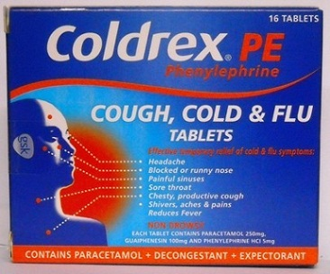 medicines for cough and cold-Coldrex PE cough cold and flu