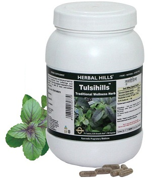 medicines for headache-Herbal hills tulsi 60 capsules