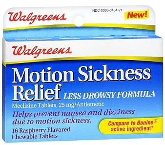medicines for vertigo-Motion sickness relief oral