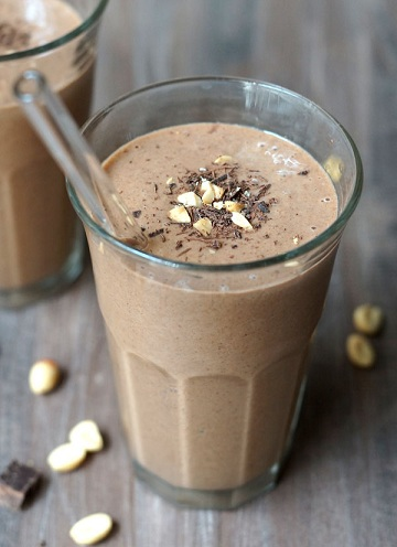 Peanut butter weight loss shake