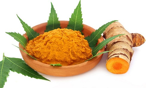 Neem and Turmeric for breast reduction