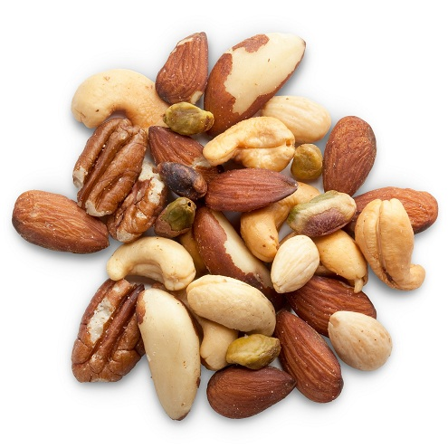 Nuts for breast reduction